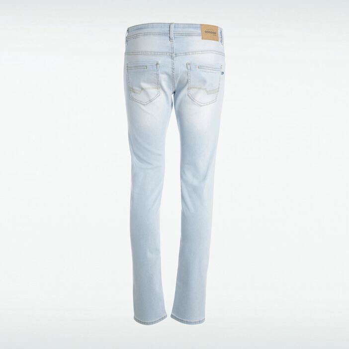 Jeans slim effet used Instinct DENIM BLEACH