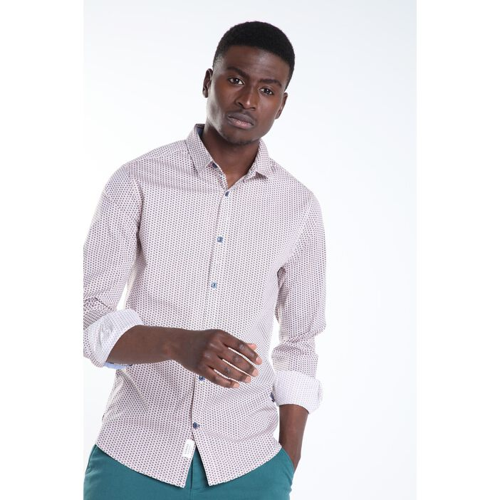 Chemise manches longues BLANC