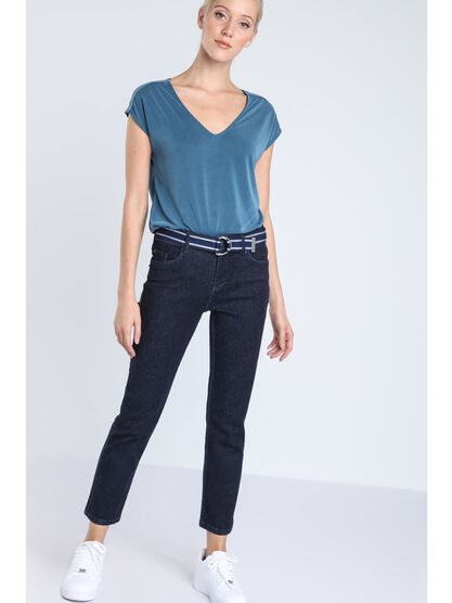 jeans regular taille normale denim brut