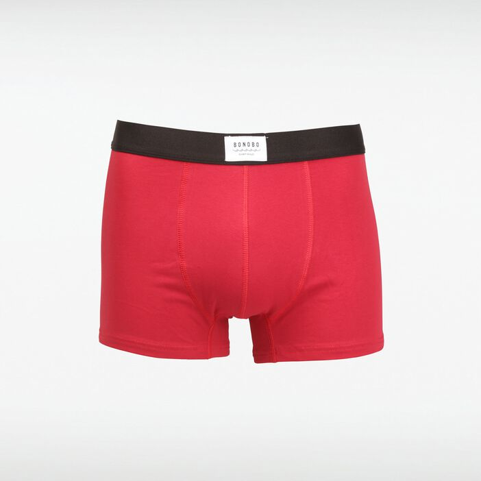 Pack 2 boxers ROUGE