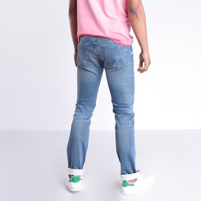 Jeans straight taille standard denim dirty homme