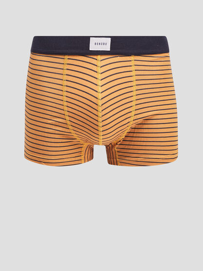 Lot 2 boxers jaune moutarde homme