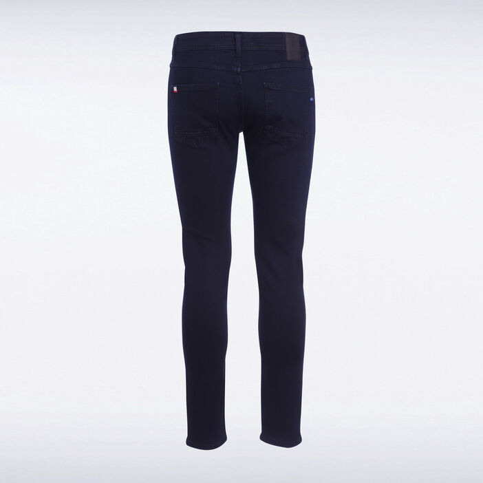 Jeans skinny 5 poches denim blue black homme