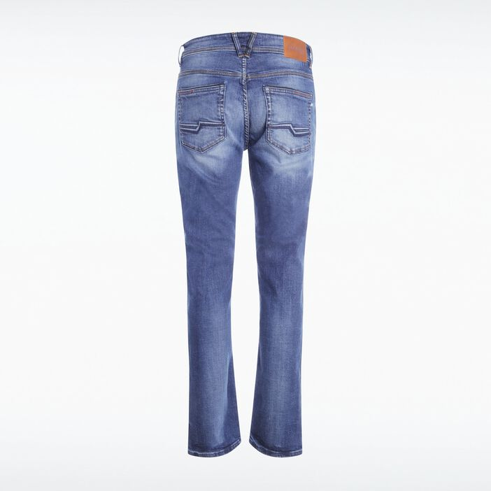 Jeans bootcut 5 poches used DENIM STONE