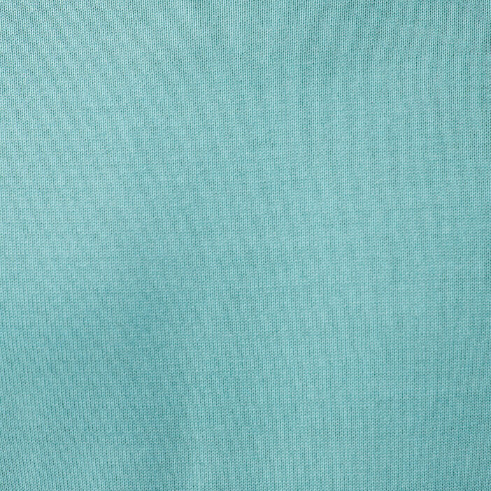 Sweat col rond bleu turquoise homme