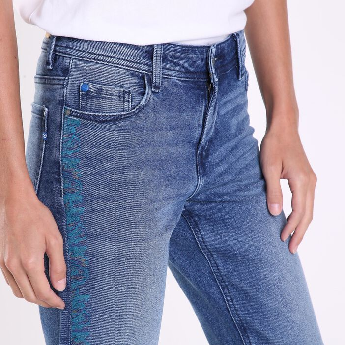 Jeans regular taille normale DENIM STONE