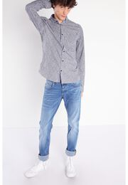 Jeans slim effet used Instinct denim used homme