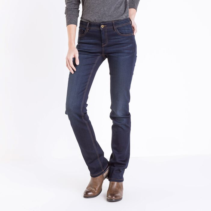 Jeans femme regular Instinct DENIM BRUT