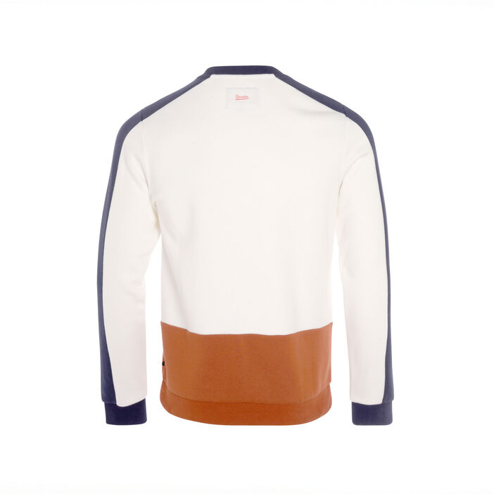 Sweat manches longues beige homme