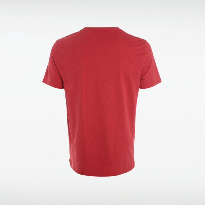 T-shirt manches courtes rouge homme