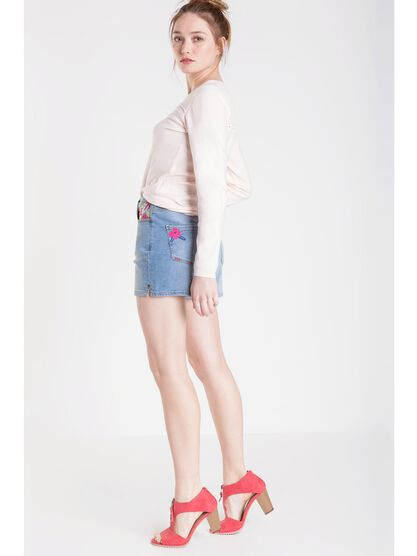 short en jean femme instinct denim used