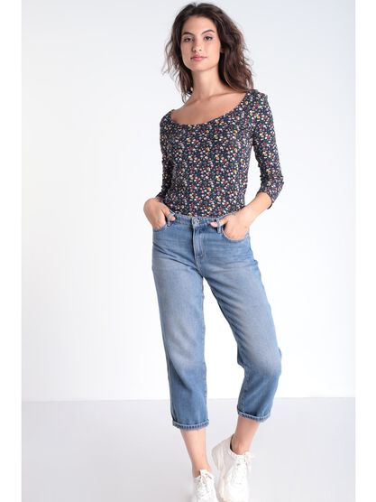 Jeans regular 78eme denim used femme