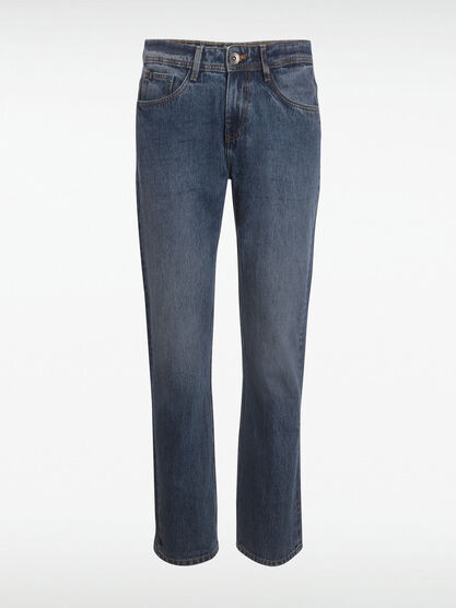 Jean regular denim stone homme