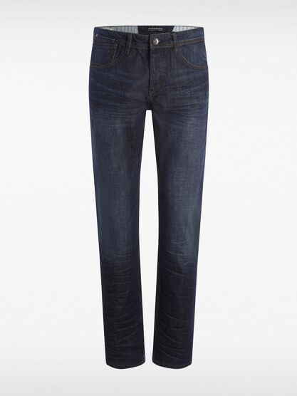 jeans homme straight recycle denim brut