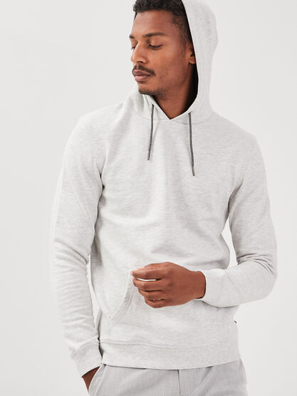 Sweat manches longues ecru homme