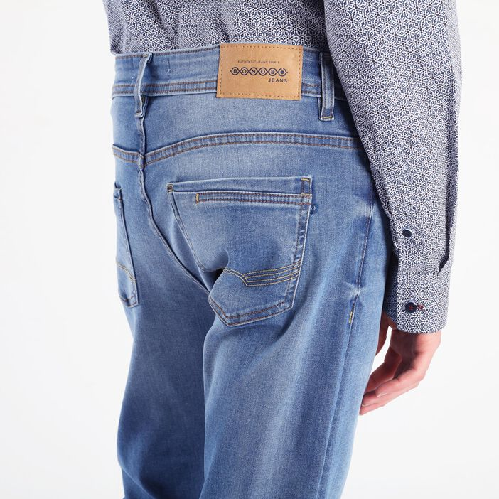 Jeans slim crinkle Instinct denim used homme