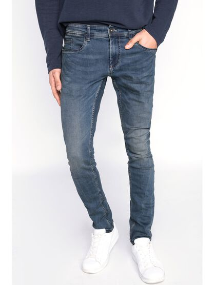 jeans homme skinny basic denim dirty