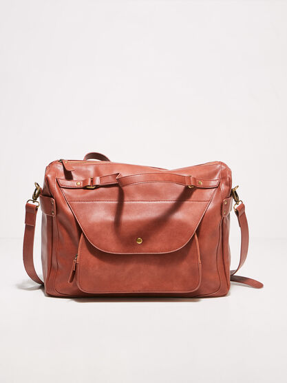 Sac bandouliere rouge fonce femme