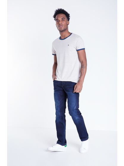 jeans regular homme l32 instinct denim brut