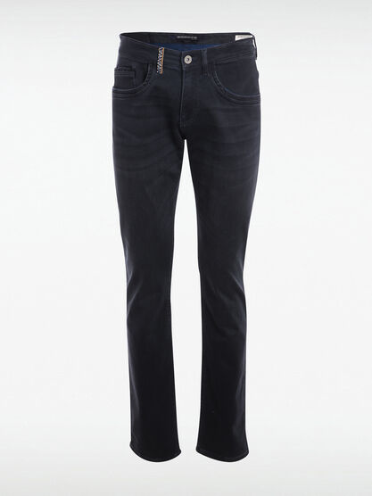 Jeans straight taille standard denim brut homme
