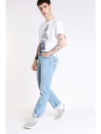 jeans regular homme instinct denim bleach