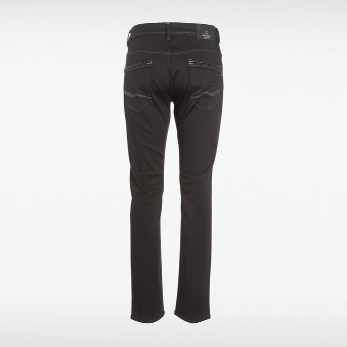 Jeans straight ultra stretch denim noir homme