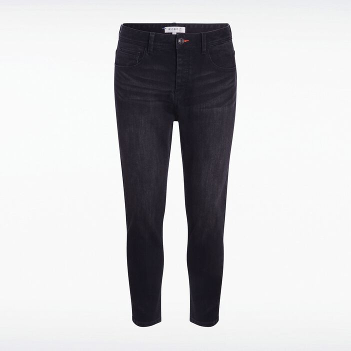 Jeans chino 7/8 used DENIM NOIR