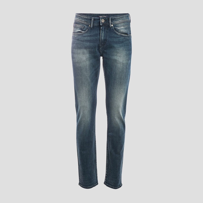 Jeans straight denim dirty homme