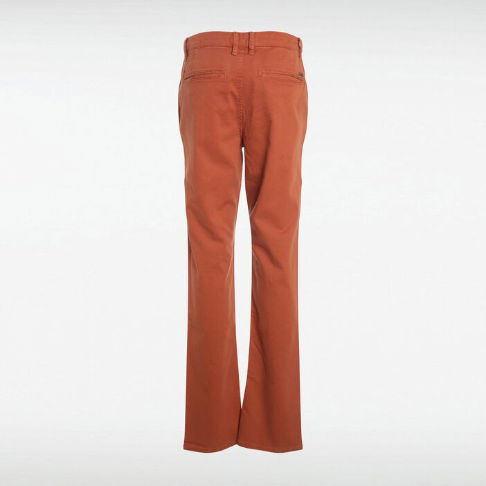 Pantalon chino regular homme Instinct ORANGE FONCÉ