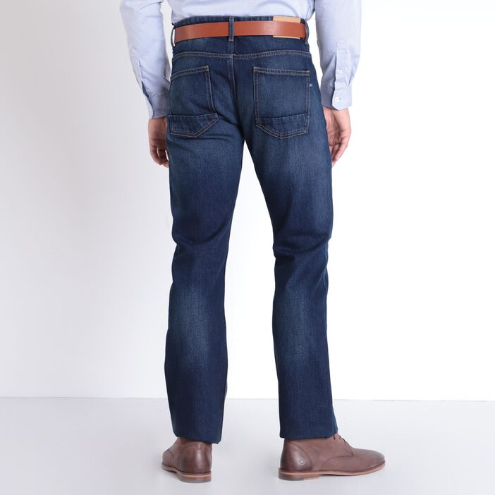 Jean regular denim brut homme