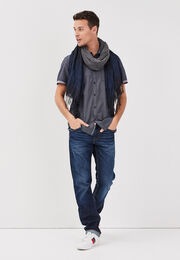 Jeans recycle denim brut homme