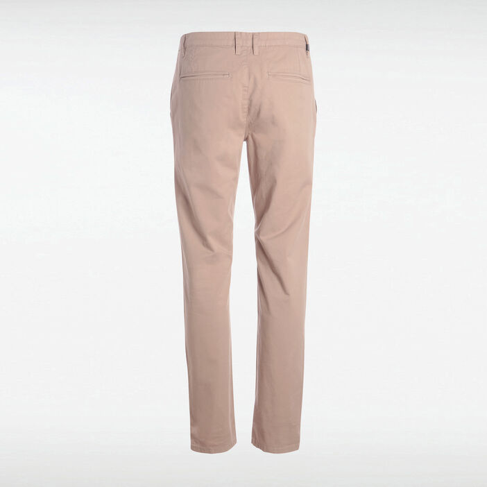 Pantalon Instinct chino marron homme