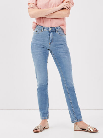 Jeans regular taille standard denim used femme