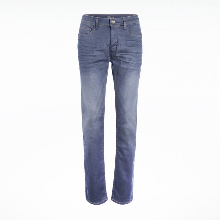 Jeans homme regular used DENIM GRIS