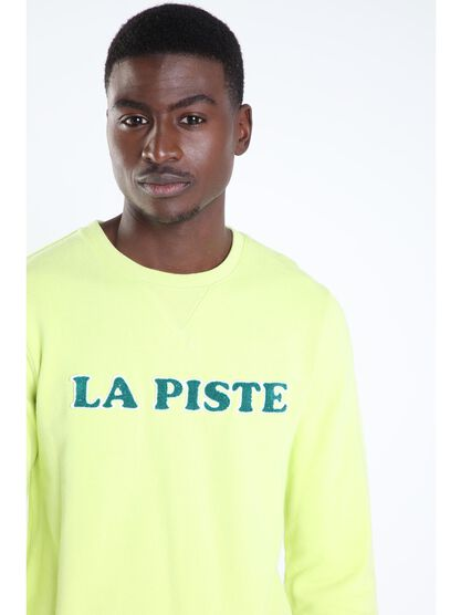 sweat a message vert fluo