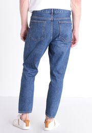 Jeans anti fit 5 poches denim stone homme