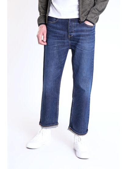 jeans loose homme instinct denim stone