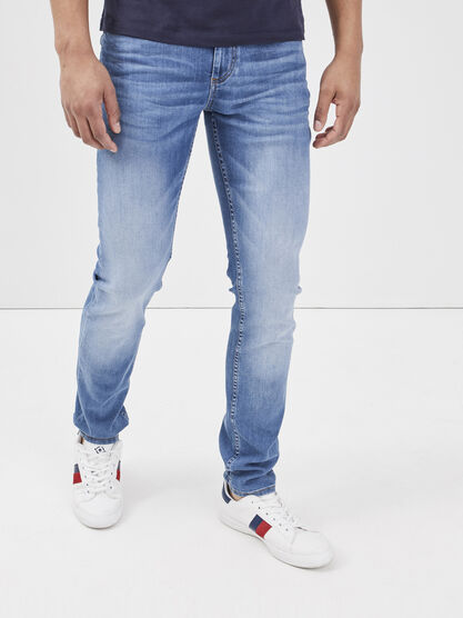 Jeans slim eco responsable denim used homme