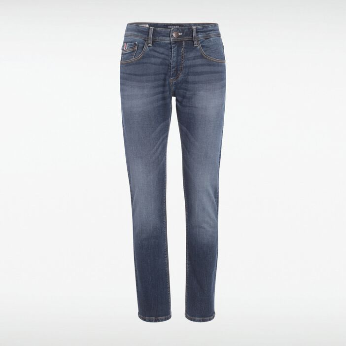 Jeans straight homme used L32 DENIM STONE