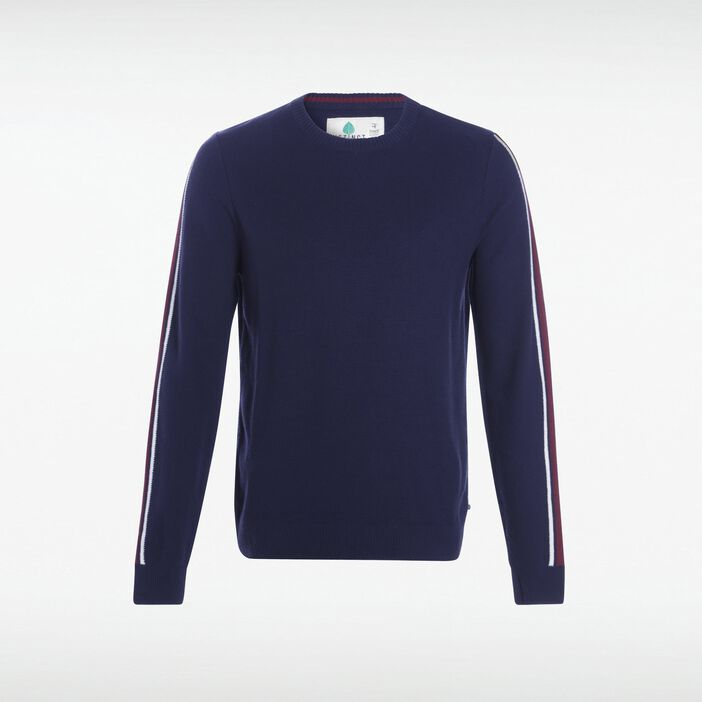 Pull manches longues homme Instinct BLEU MARINE