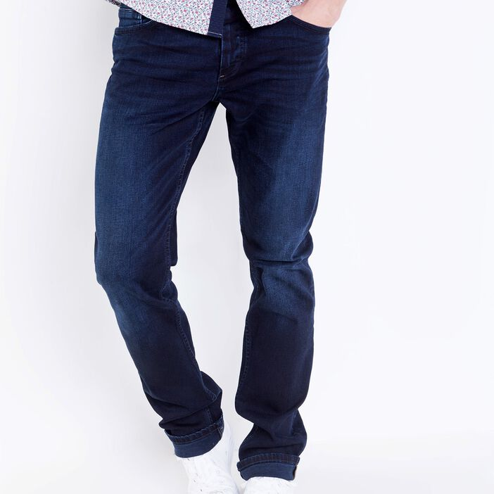 Jeans straight homme L32 Instinct DENIM BRUT