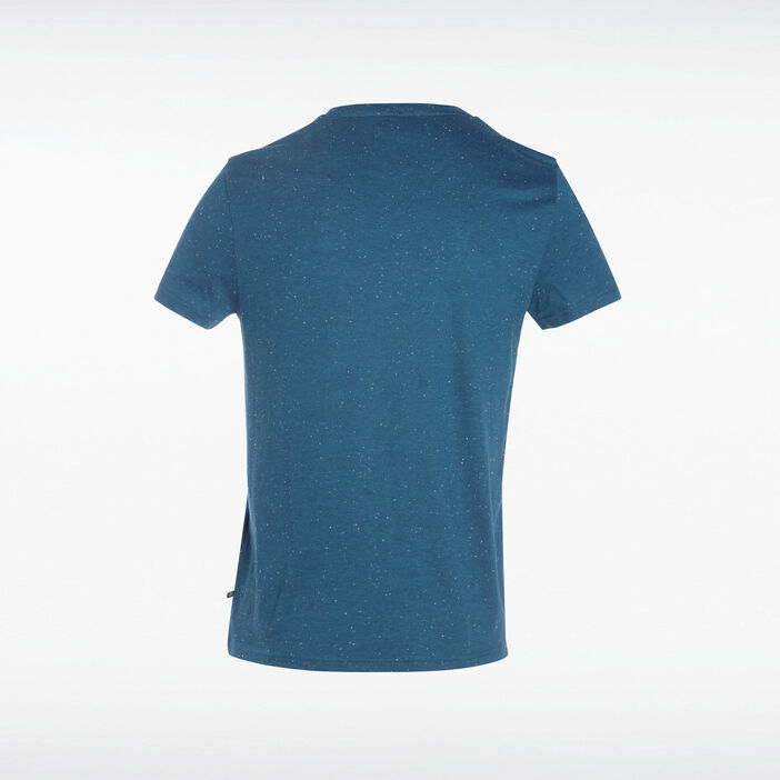 T-shirt manches courtes vert turquoise homme