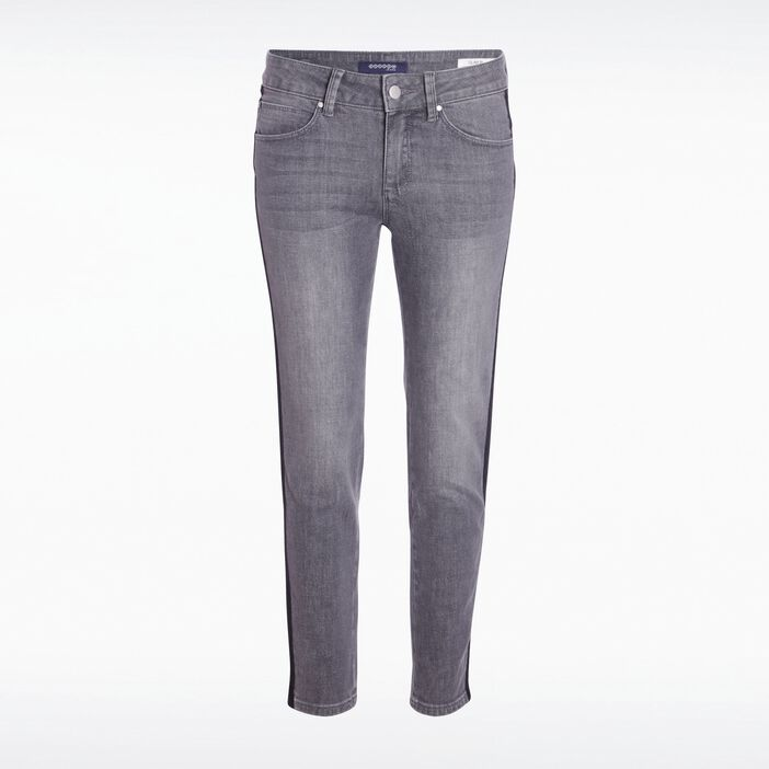 Jeans slim denim used DENIM GRIS