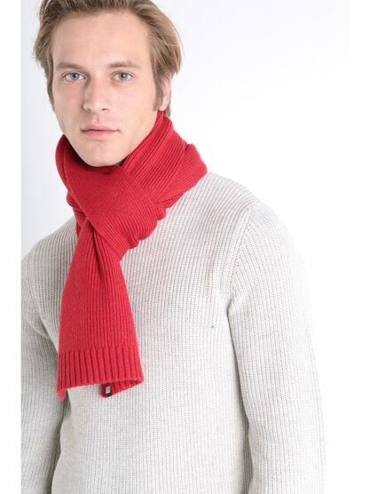 charpe rouge homme