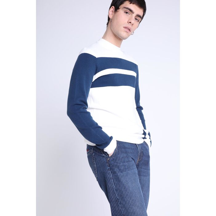 Pull manches longues BLANC