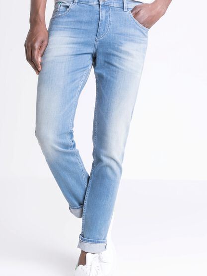 jeans slim homme l32 instinct denim used