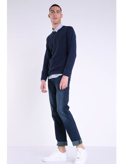 jeans straight homme l32 instinct denim stone