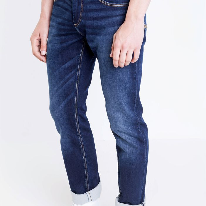 Jeans straight homme used L32 DENIM BRUT