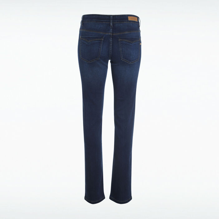 Jeans Instinct regular denim brut femme
