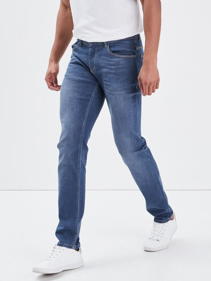 Jeans slim ultra stretch denim dirty homme